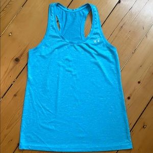 Under Armour racerback tank, like new.